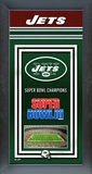 New York Jets Framed Championship Banner