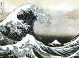 The Great Wave off Kanagawa, c. 1829