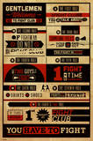 Buy Fight Club - Rules from Allposters