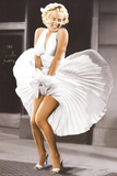 Marilyn Monroe - Seven Year Itch, White Dress, Color James Bond: Aston Martin The Rat Pack Marilyn Monroe-Ballerina Pulp Fiction – Cover with Uma Thurman Movie Poster Scarface Casablanca Back To The Future The Godfather The Man with No Name Back To The Future The X-Files - I Want To Believe Print Arnold Schwarzenegger Jaws 1975 Movie Cover Art Rocky - Movie Score Arms Up