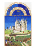 Le Tres Riches Heures Du Duc De Berry - September Premium Poster