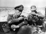 WWII Gen. Rommel Desert