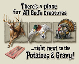 Place for All God's Creatures Tin Sign