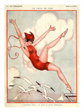 La Vie Parisienne, Vald'es, 1924, France
