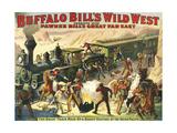 Buffalo Bill's Wild West Show, 1907, USA