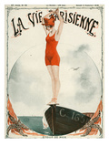 La Vie Parisienne, Georges Leonnec, 1919, France