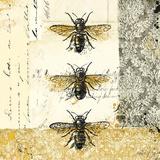 Golden Bees n Butterflies No. 1