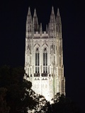 Duke University - The Duke Chapel Lights Up the Night