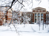 University of Cincinnati - Winter Falls on Campus