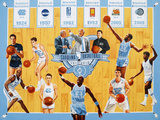 University of North Carolina - Tribute to 100 Years of Carolina Basketball