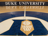 Duke University - 2006 Duke Team Signs Center Court