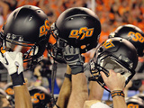 Oklahoma State University - OSU Helmets Held High