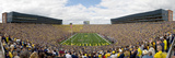 University of Michigan - Michigan Stadium on Game Day Panorama