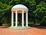 University of North Carolina - Campus Centerpiece - the Old Well at UNC