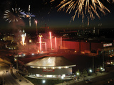 University of Cincinnati - Fireworks over Fifth Third Arena