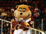 University of Minnesota - Goldy the Gopher at Hockey Game