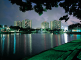 University of Miami - Miami Residence Halls at Night