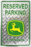 John Deere Reserved Parking Diamond