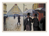 Paris Street; Rainy Day