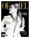 L'Officiel, April 2007 - Robin Wright Penn Porte une Veste Yves Saint Laurent