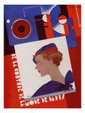 L'Officiel, April 1934 - Rose Descat