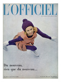 L'Officiel - Ensemble en Cuir de Pierre Cardin
