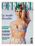 L'Officiel, June 1992 - Niki Taylor, Top Star, en Gianni Versace