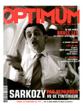 L'Optimum, June-July 2003 - Nicolas Sarkozy