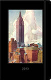 New York Vintage Postcard - 2013 Planner