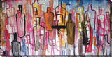 Buy Abstract Liquor Bottles at AllPosters.com