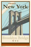 Brooklyn Bridge - Travel New York Poster