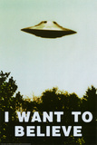 Buy The X-Files - I Want To Believe Print at AllPosters.com