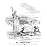 Statue of Liberty Cartoon