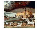 Hicks: Noah's Ark, 1846