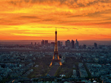 Sunset from Montparnasse
