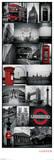 London - Collage Door Poster