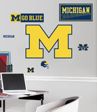 University of Michigan Peel & Stick Giant Wall Decals