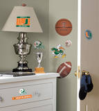 University of Miami Peel & Stick Wall Decals