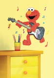Sesame Street - Elmo Rock n Roll Guitar Peel & Stick Giant Wall Decal