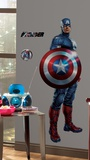 Avengers - Captain America Peel & Stick Giant Wall Decal