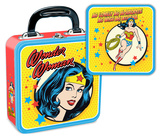 Wonder Woman Square Tin Lunchbox