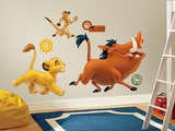 The Lion King Peel &amp; Stick Giant Wall Decals