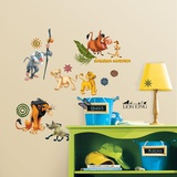The Lion King Peel &amp; Stick Wall Decals