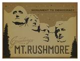 Mt. Rushmore, Monument to Democracy