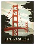 San Francisco, Golden Gate Bridge Art Print