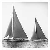 Sailboats in the America's Cup, 1934