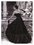 Black Evening Dress, Roma 1952