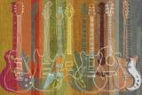 Guitar Heritage Art Print