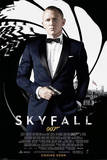 James Bond Skyfall - Credits Poster