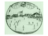 Cricket Match at Lord's Cricket Ground, 1837